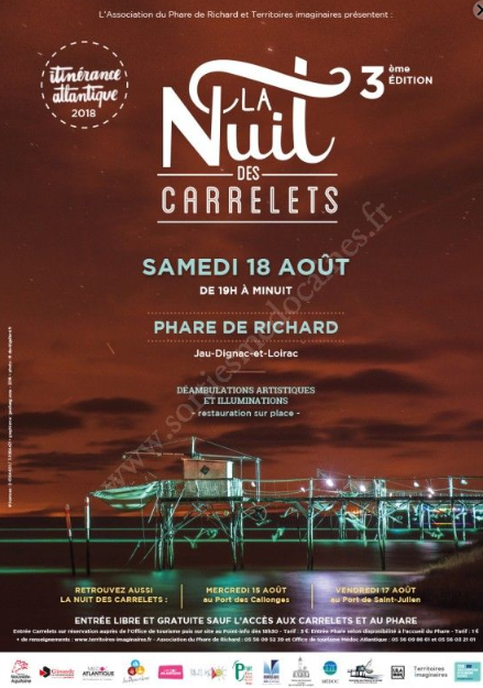 La Nuit des carrelets au Phare de Richard